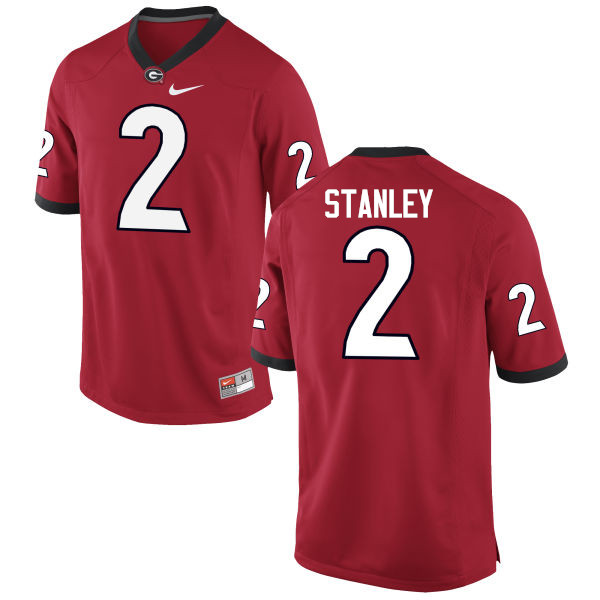 Men Georgia Bulldogs #2 Jayson Stanley College Football Jerseys-Red