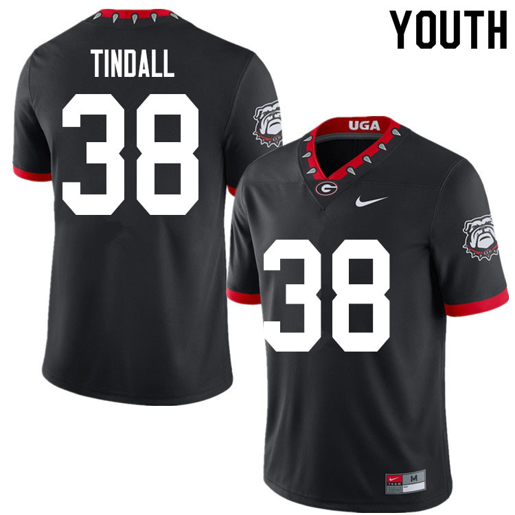 2020 Youth #38 Brady Tindall Georgia Bulldogs Mascot 100th Anniversary College Football Jerseys Sale