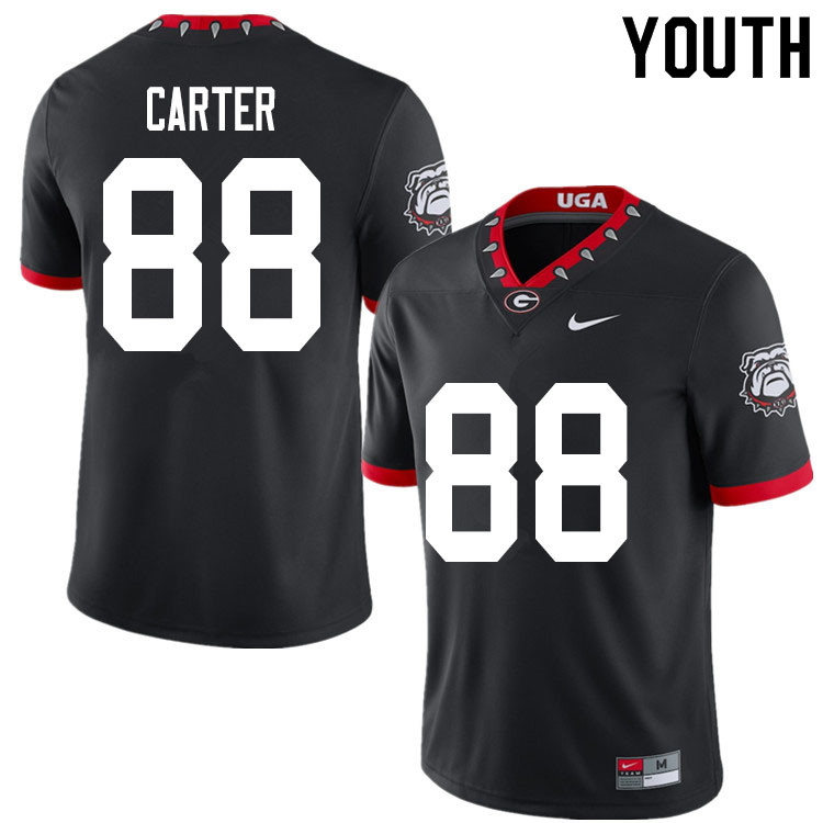 2020 Youth #88 Jalen Carter Georgia Bulldogs Mascot 100th Anniversary College Football Jerseys Sale-